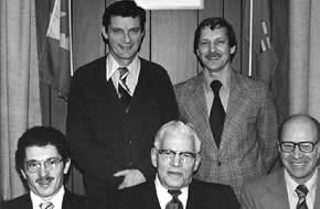 First Town Council, 1980