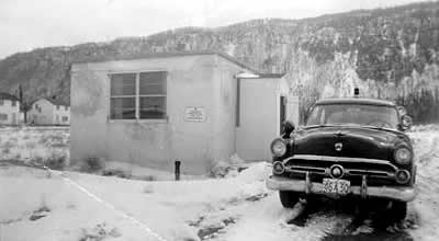 Red Rock's first police station